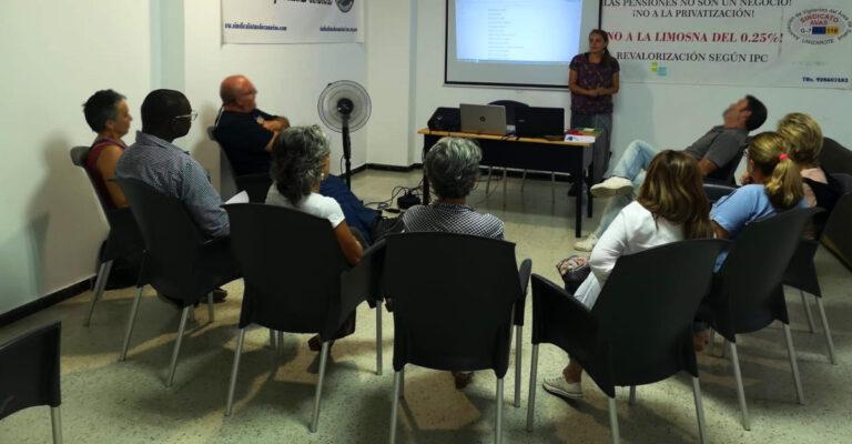 Sobre el taller ¿Qué falla en los movimientos sociales? en Arrecife