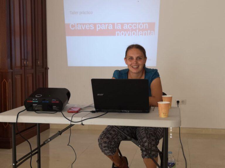 """¿Qué hacer ante la extrema derecha? Apuntes del taller """"Claves para la acción noviolenta"""" en Lanzarote, Octubre 2019"""