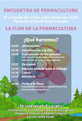 Jornada de Permacultura: La flor de la permacultura